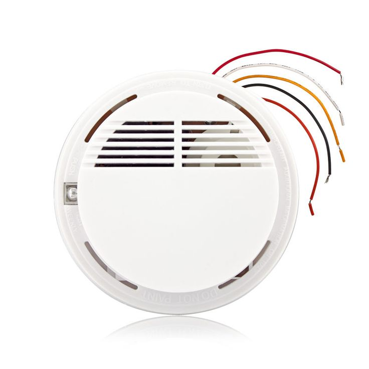 Wired Fire Smoke Sensor Detector Alarm Tester For Home Security System NEW Product Fire Alarm Smoke Detector