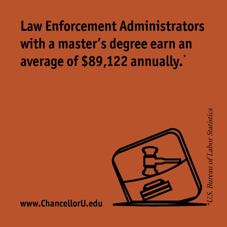Master's degrees in criminal justice can take you even further than a bachelor's degree