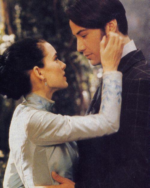 Winona Ryder & Keanu Reeves as Mina Murray and Jonathan Harker in Bram Stoker's Dracula, F.F. Coppola, 1992 <3