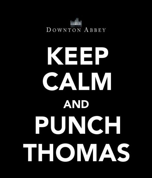 I love how angry Thomas and O'Brien make my mother!  Too funny!