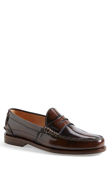 classic leather penny loafer