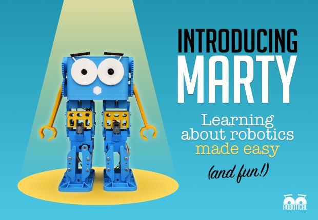 Marty The Robot   Indiegogo