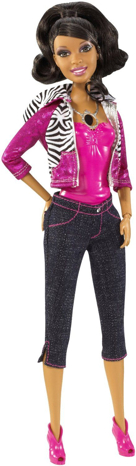 Amazon.com: Barbie Video Girl African-American Doll: Toys & Games