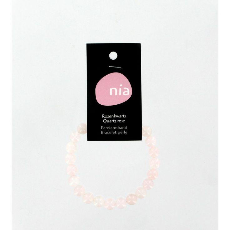 Kralen armband Roze kwarts - Sebio