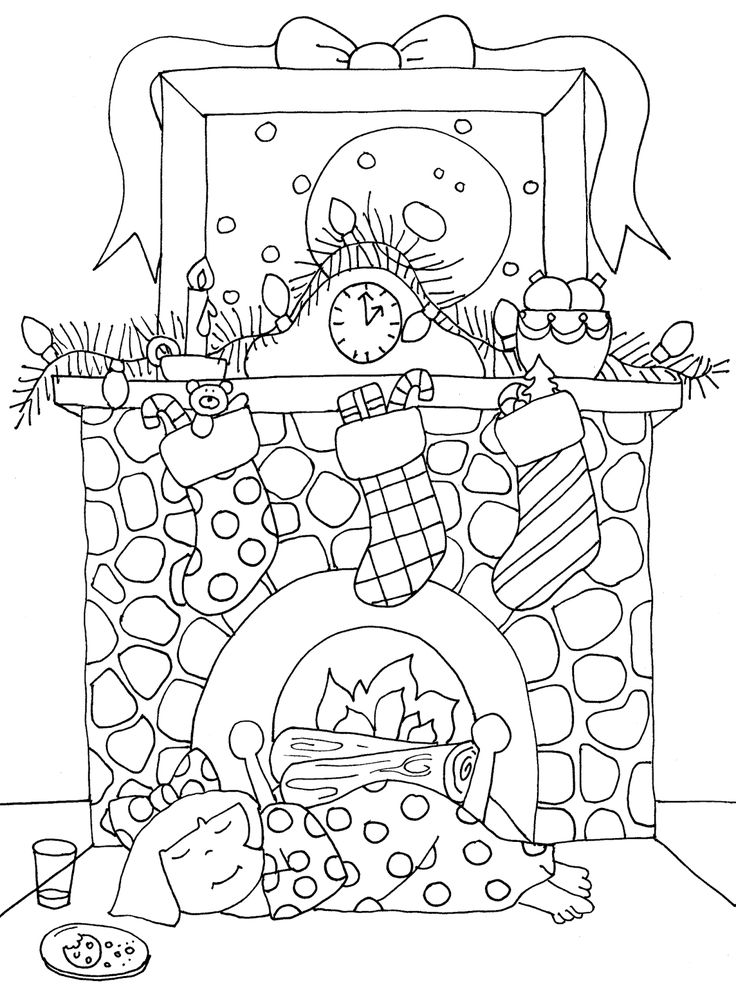 String Christmas Lights Coloring Pages Coloring Pages