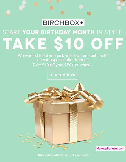Birchbox Birthday Gift