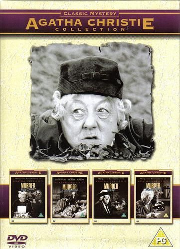 Agatha Christie- Miss Marple Collection Featuring Margaret Rutherford, my favorite Miss Marple.