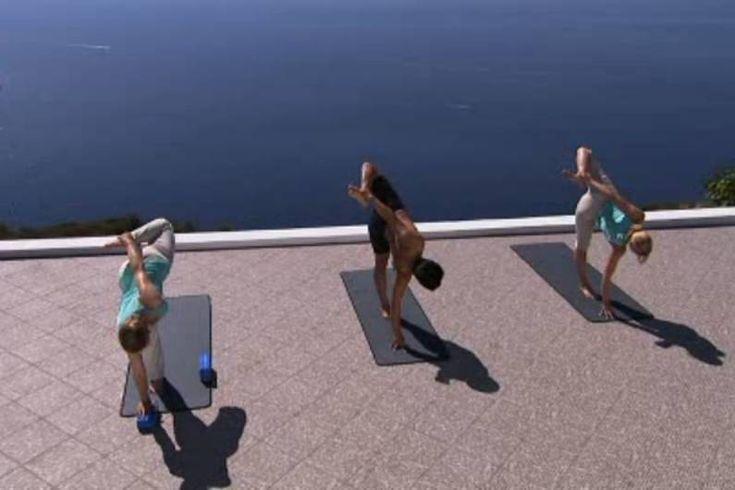 """Übung Workout """"Intensive Yoga"""" für Balance & Strenght - hier Schritt für Schritt das Workout in einzelnen Übungen"""