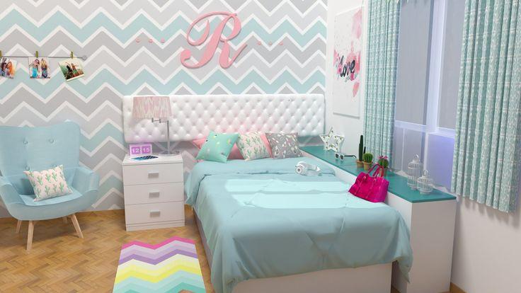 creaando habitacion teen