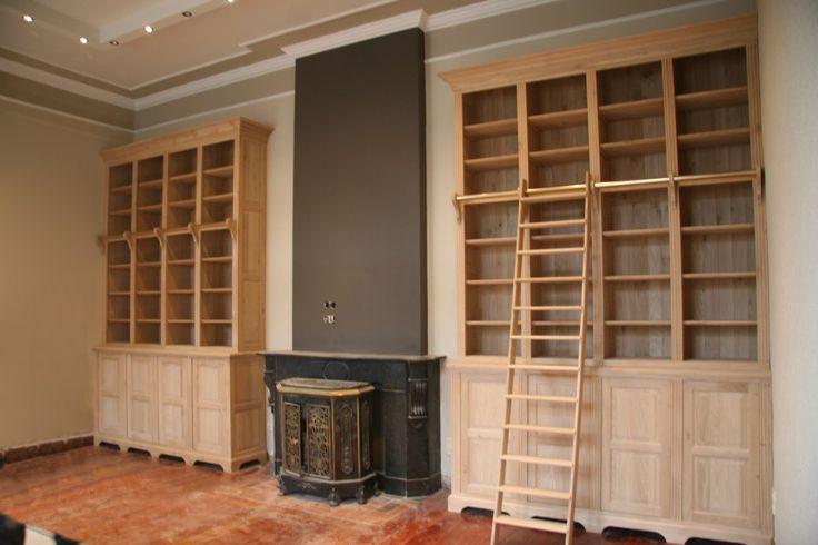 Afbeeldingsresultaat voor oude boekenkast