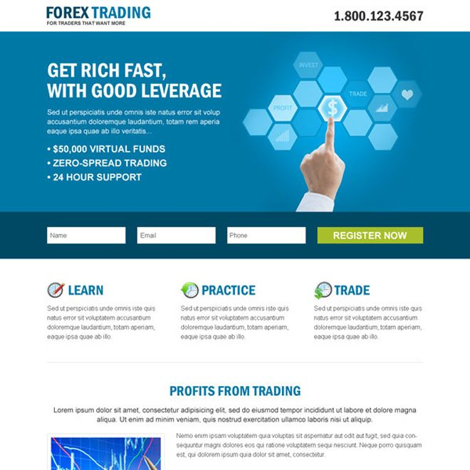 10 best Forex trading landing page design images on Pinterest - forex broker sample resume