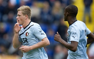 Feyenoord continue their quest for Champions League football with a trip to Eredivisie strugglers ADO Den Haag on Sunday.