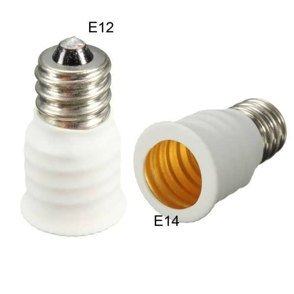 E12 To E14 LED Light Lamp Bulb Holder Socket Adapter Converter  Worldwide delivery. Original best quality product for 70% of it's real price. Buying this product is extra profitable, because we have good production source. 1 day products dispatch from warehouse. Fast & reliable...