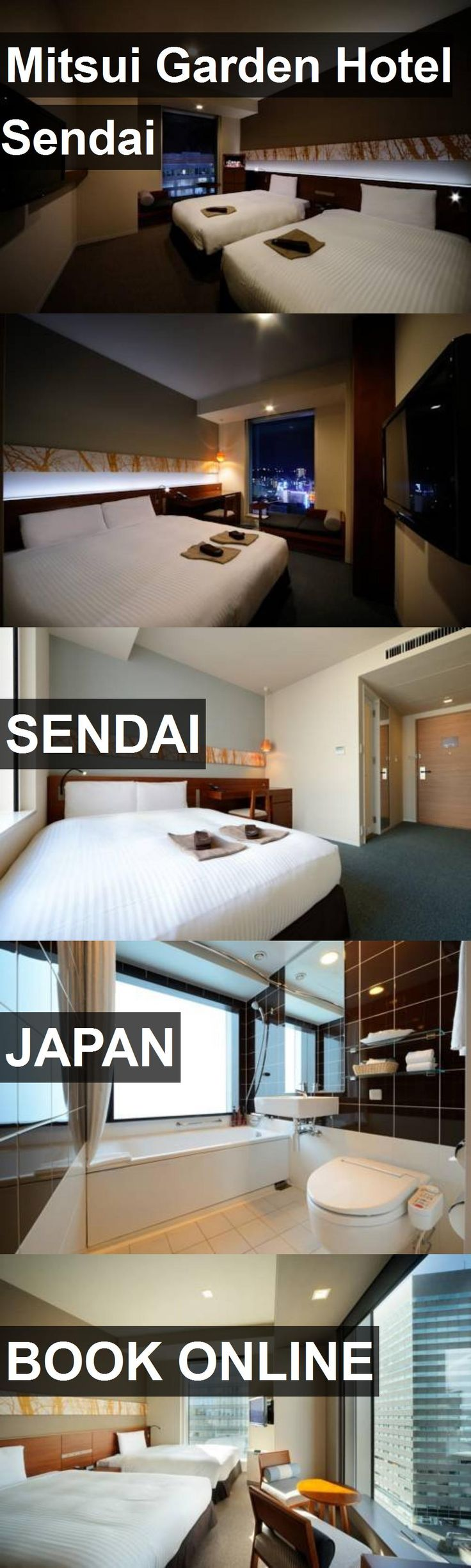 Mitsui Garden Hotel Sendai in Sendai, Japan. For more information, photos, reviews and best prices please follow the link. #Japan #Sendai #travel #vacation #hotel