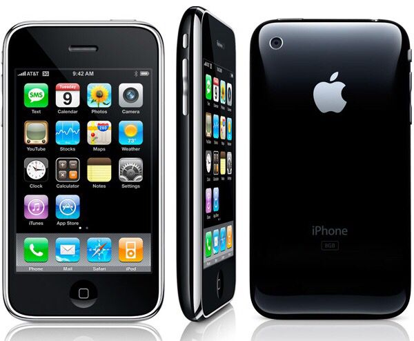 iPhone 3G First released : July 11, 2008