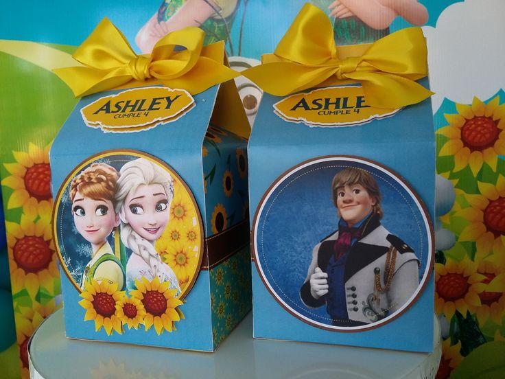 Cajas de dulces Frozen. Frozen Fever Candy Box