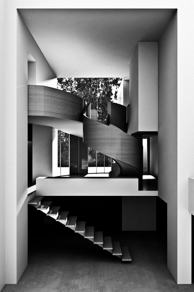 Antonino Cardillo Architects / dualistic house