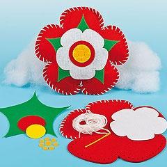 Tudor rose sewing kits..
