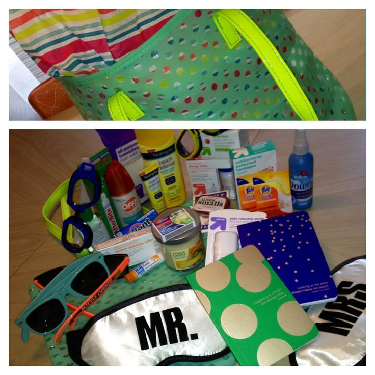 Honeymoon Survival Kit in a Beach Tote: His & Hers Bottle Opener ...