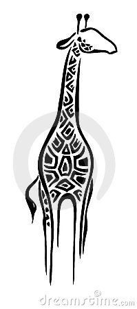 Logo giraffe by Justk8, via Dreamstime  kind of deco-y? Definitely not art deco, but might work?