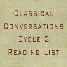 This is our family's Classical Conversations Cycle 3 reading list, I hope it's helpful for other CC mamas out there! As I wrote in my last post, this year will be heavy on reading as we simplify. Our American history studies are the basis for most of our literature picks this year, I am so…