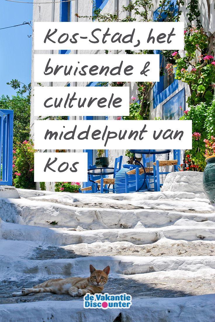 Als je één deel van Kos niet mag missen dan is het wel de hoofdstad Kos-Stad. Naast dat dit de meest levendige plaats van het eiland is, is het ook nog eens dé plek om cultuur te snuiven en te genieten van tzaziki en cocktails op een terrasje!