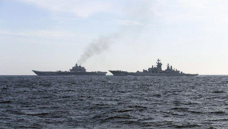 #world #news  Deutsche Welle: Russia, UK trade barbs as aircraft carrier Kuznetsov sails home  #freeSuschenko #FreeUkraine