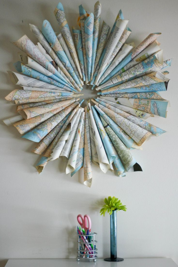 Recycled Home Decor best 25+ recycled home decor ideas on pinterest | paper wall decor