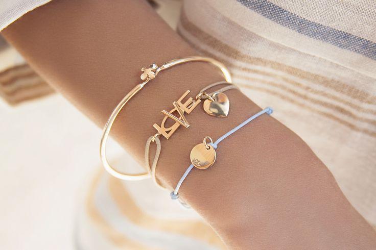 #mothersday #bemylilou #bracelets #love #heart #penelope #engraving #fashion
