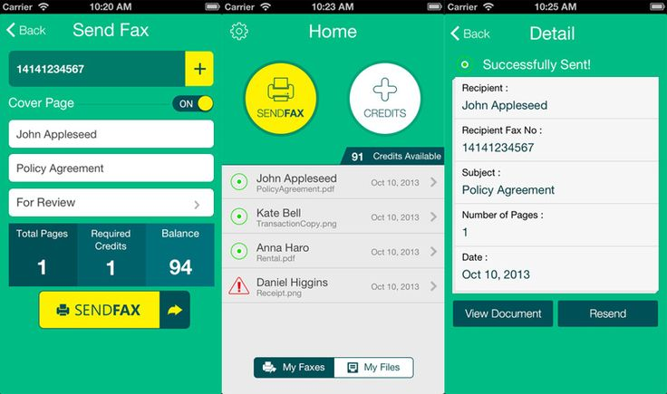 11 best mobile fax apps sendreceive faxes via ios and