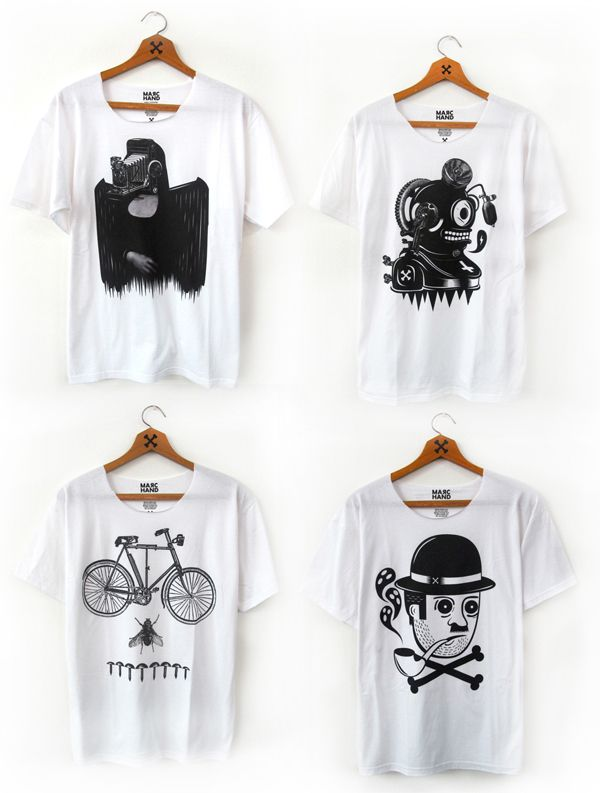 BLACK on WHITE Shirts by RODEO , via Behance
