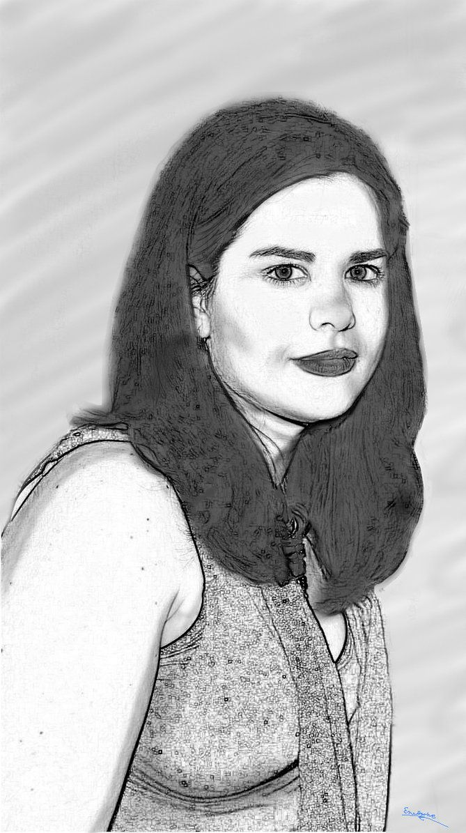 Retrato Misteriosa Mujer by eruizprieto.deviantart.com on @DeviantArt