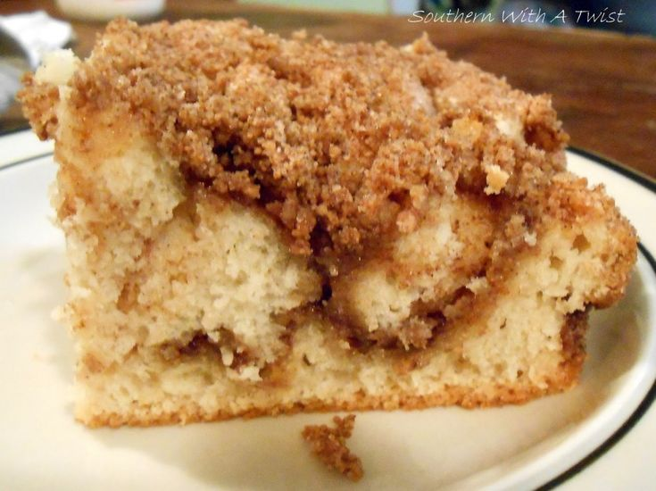 Snickerdoodle Coffee Cake – $9