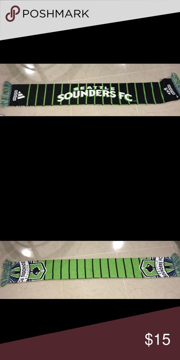Adidas Official Seattle Sounders Scarf MLS Brand new Scarf   MLS SEATTLE SOUNDERS 🔥 Other