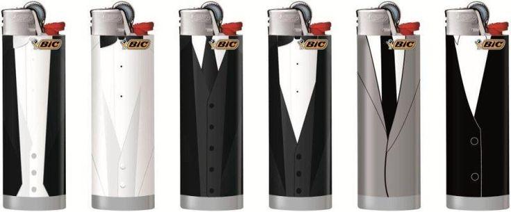 BIC Lighter, Feuerzeug, accendino, gentlemen, Männer mit Format, Smoking,