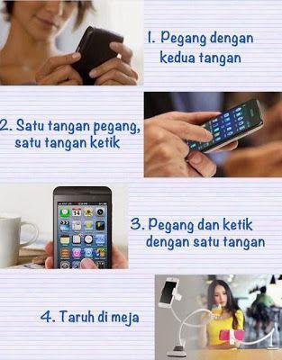 4 Tipe Pria dilihat Dari Cara Menggenggam Handphone