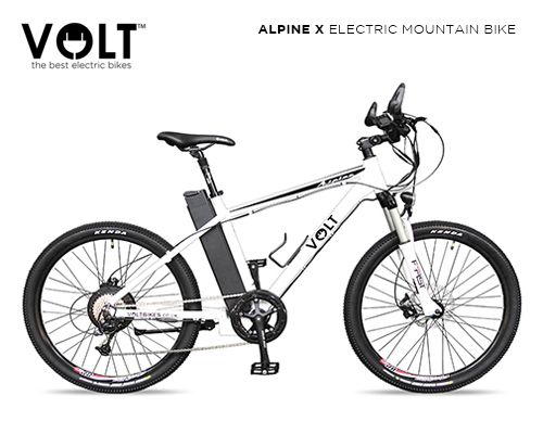 Alpine X electric mountain bike by UK electric bicycle manufacturer VOLT™