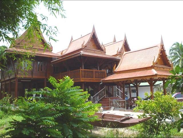 traditional thai house. Interior Design Ideas. Home Design Ideas