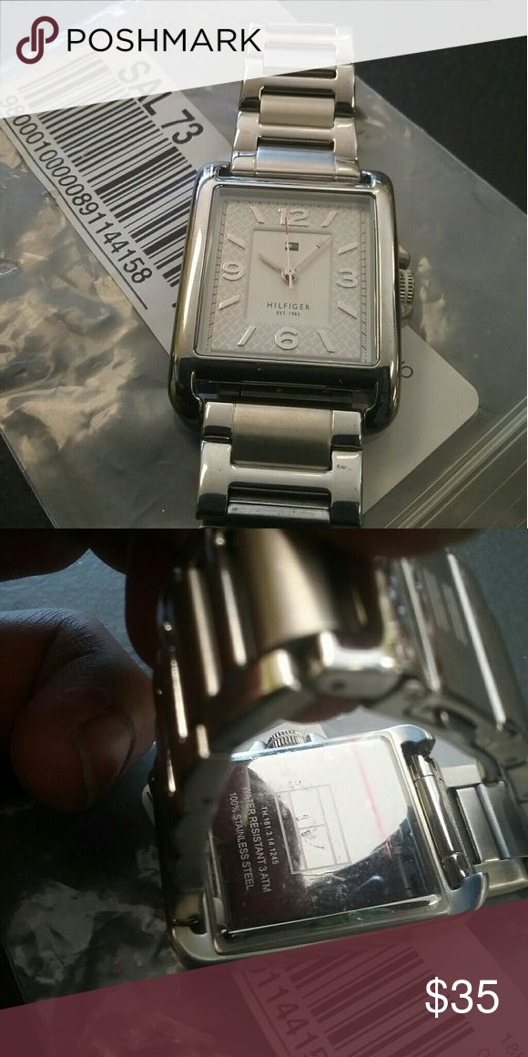 Tommy Hilfiger Stainless Steel watch Like new Needs battery 100% Stainless Steel Tommy Hilfiger Accessories Watches