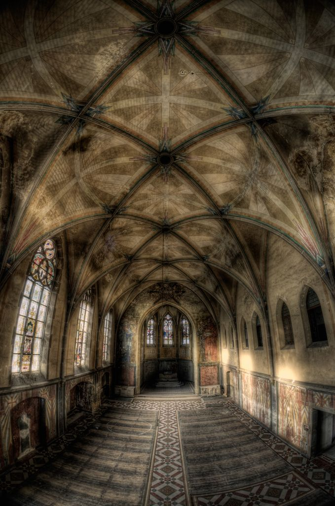 An amazing abandoned church