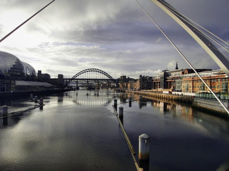 Newcastle upon Tyne, Bridges, England, UK- my soon to be new home :)    #ridecolorfully