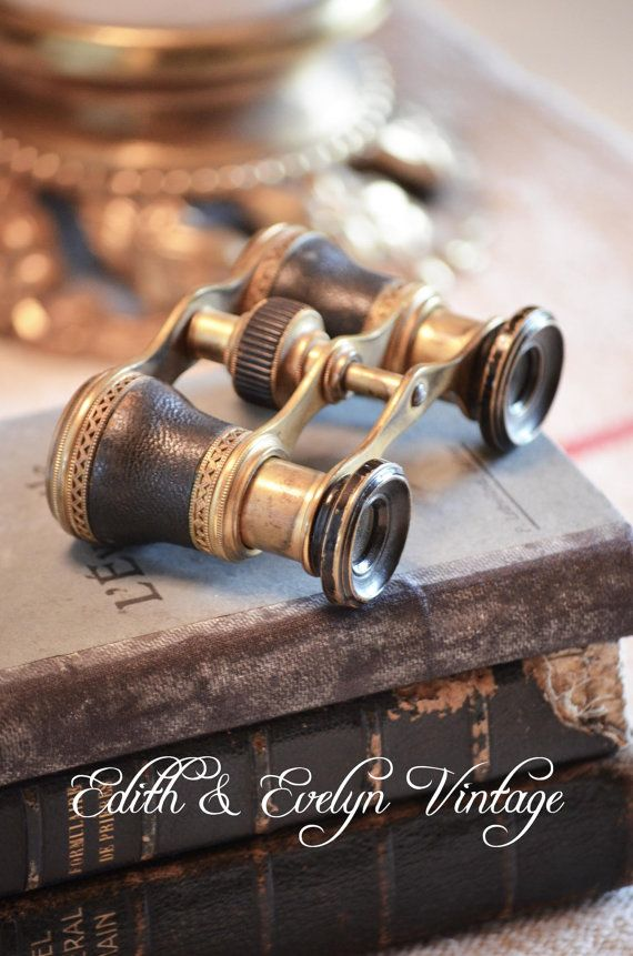 Antique Opera Glasses by edithandevelyn on Etsy