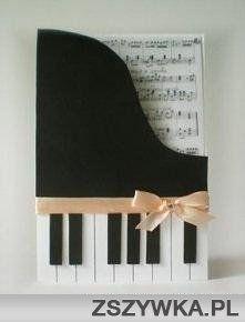 kartka fortepian