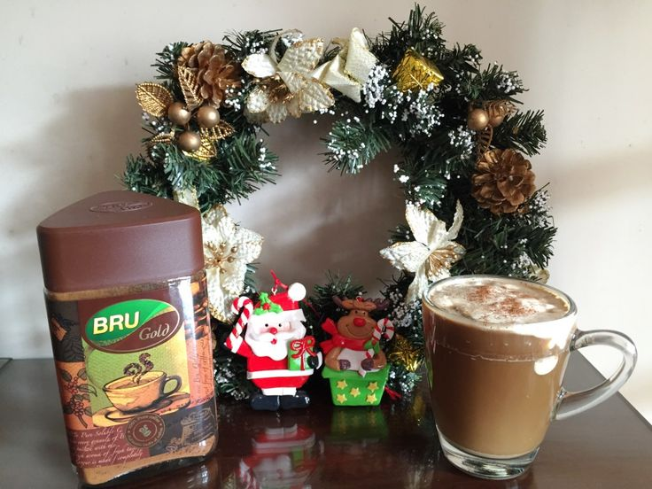 gingerbread , bru coffee, coffee recipes | The Tiny Taster