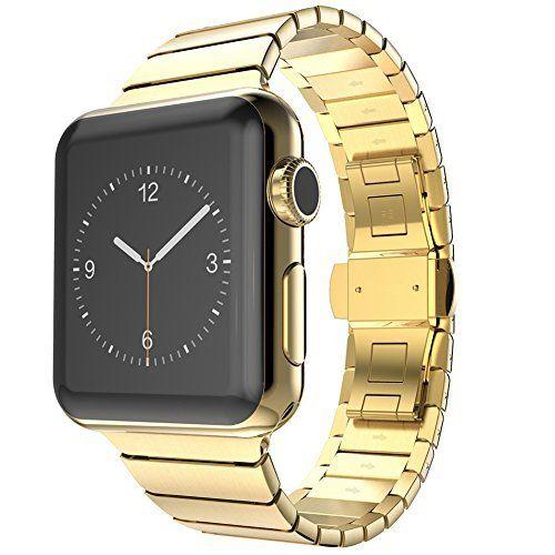 Surwin 42 mm Apple Watch Armband iWatch Band aus Edelstahl Uhrenarmband Ersatzband mit Metallverschluss für alle Versionen mit Werkzeug geliefert - http://on-line-kaufen.de/surwin/surwin-42-mm-apple-watch-armband-iwatch-band-aus-2