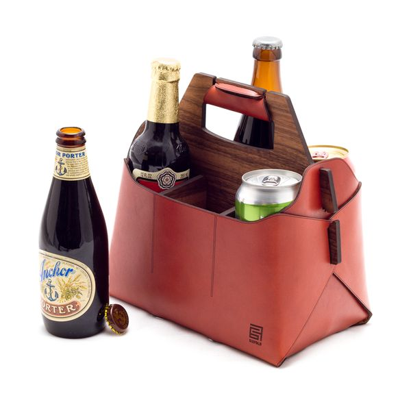 Sixfold Six: 6-bottle Beer Carrier