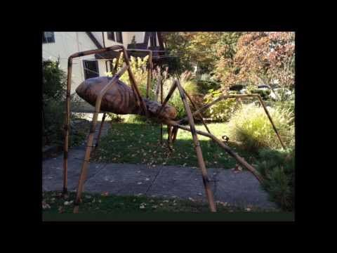 giant halloween spider youtube - Giant Halloween Spider