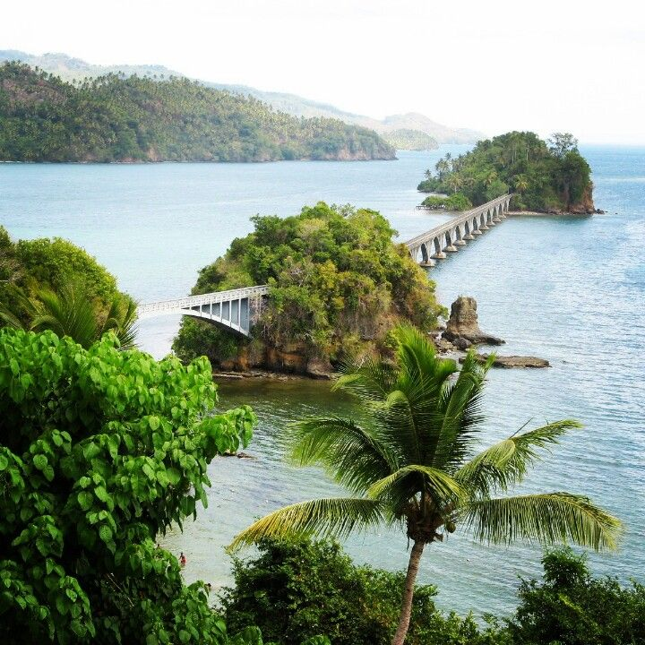 Bridge to Somewhere, Samana, Dominican Republic - Strolling used to be a refreshing pastime in the DR.