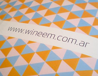 """Check out new work on my @Behance portfolio: """"Wineem"""" http://be.net/gallery/33776428/Wineem"""