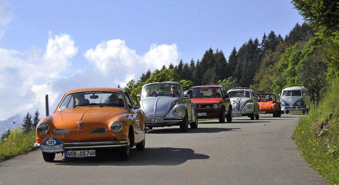 Sederet Mobil Klasik Eksotis Ramaikan Kitzbüheler Alpenrallye 2013